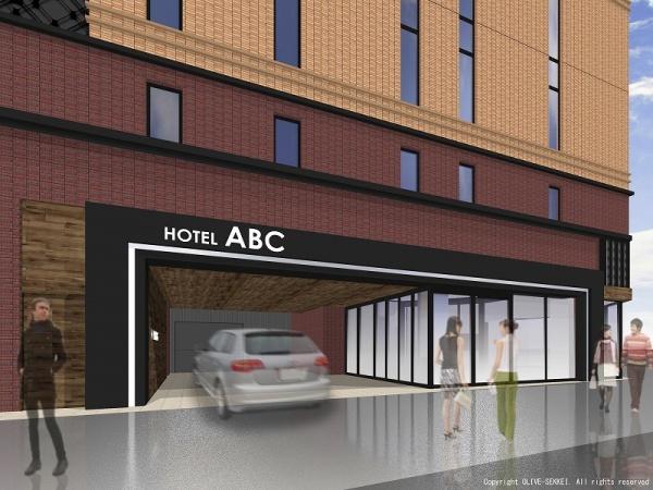 ホテルABC様-エントランスイメージCG