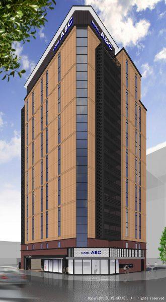 ホテルABC-外観イメージCG(高解像度)